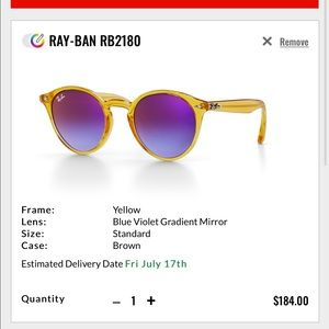 Ray Bans Customized Glasses RB2180